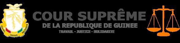 Site Officiel de la Cour Suprême de Guinée